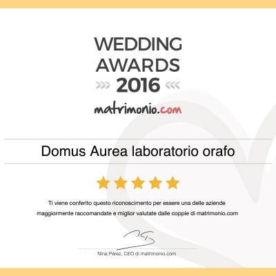 Wedding Awards 2016 Matrimonio.com